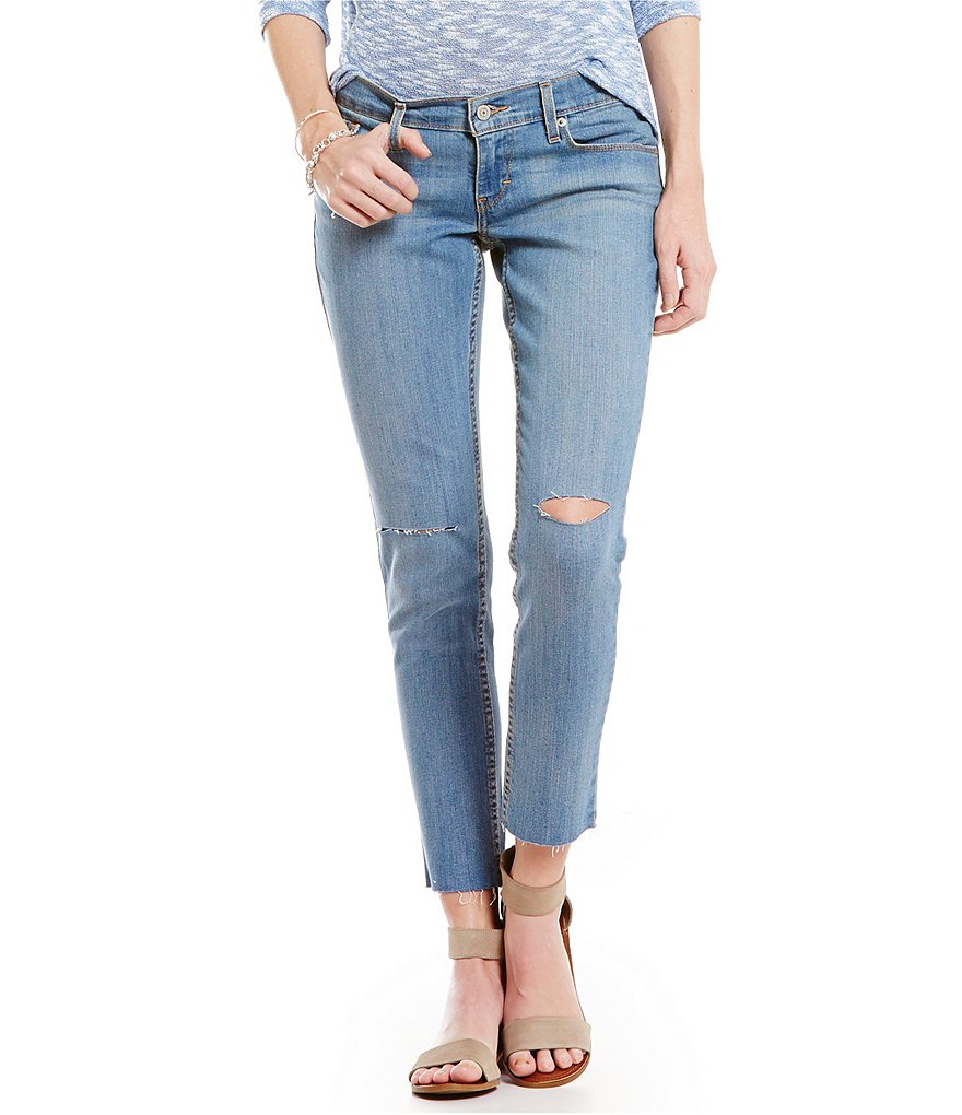 Levi´s® 524 Distressed Skinny Jeans