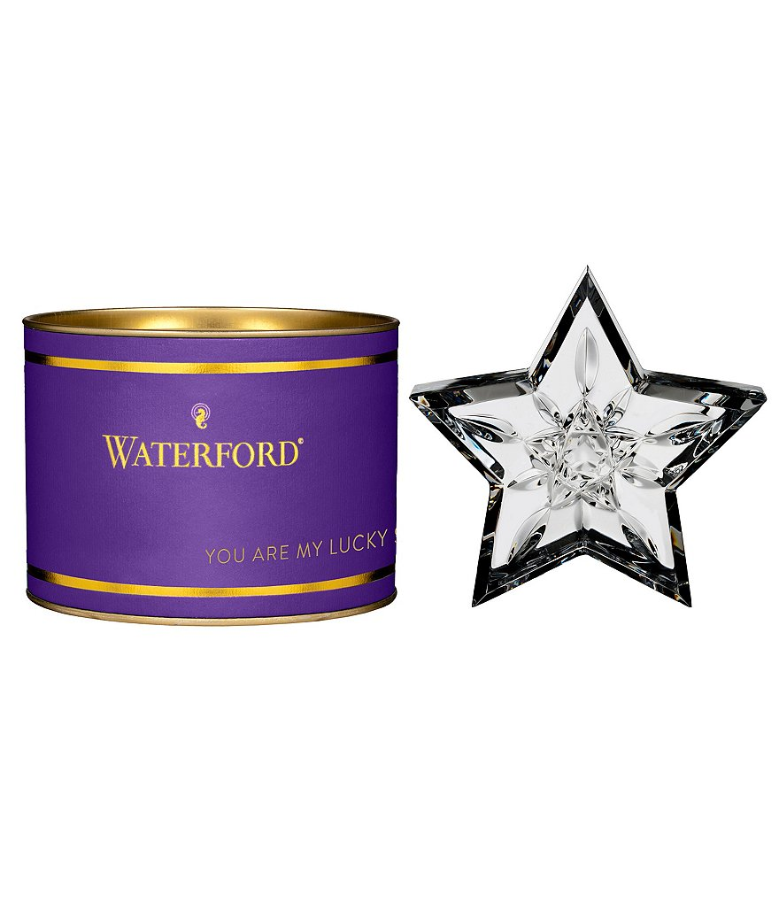 Waterford Giftology Lismore Star 3.75