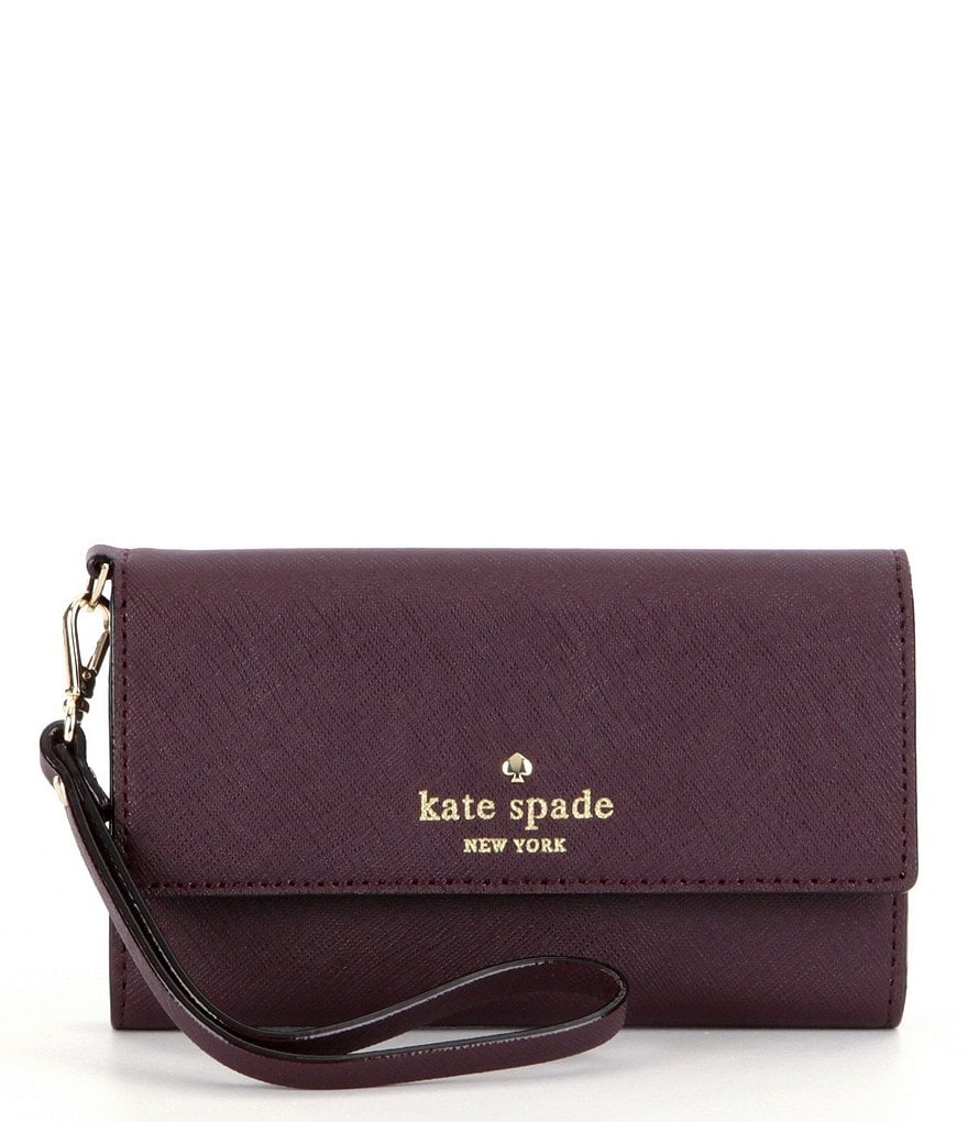 kate spade new york Cedar Street iPhone 6 Leather Wristlet