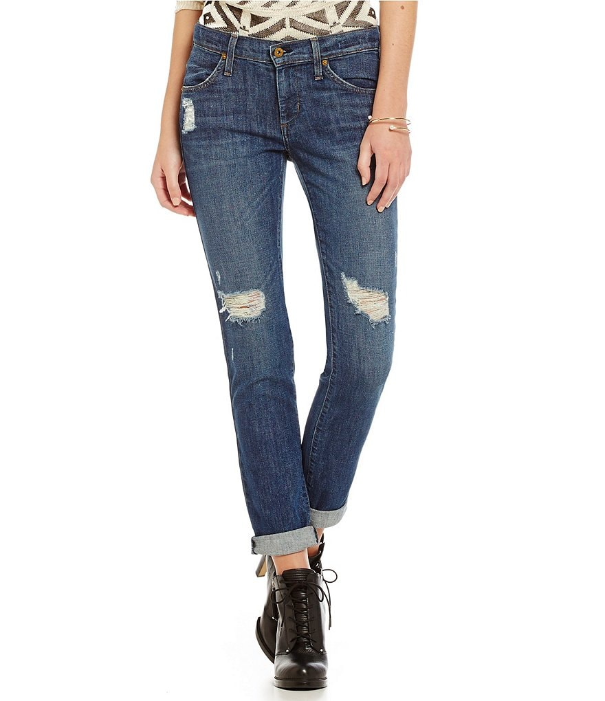 James Jeans Neo Beau Destructed Boyfriend Jeans