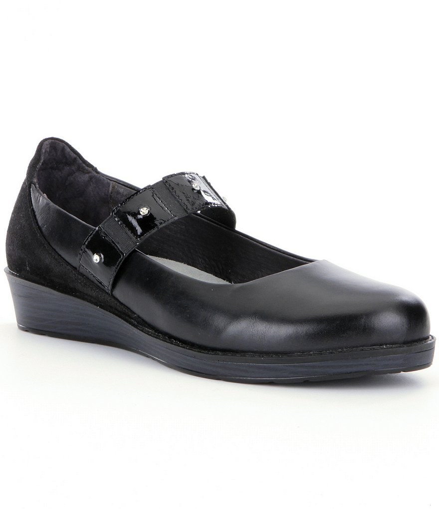 Naot Honesty Leather Mary Jane Shoes