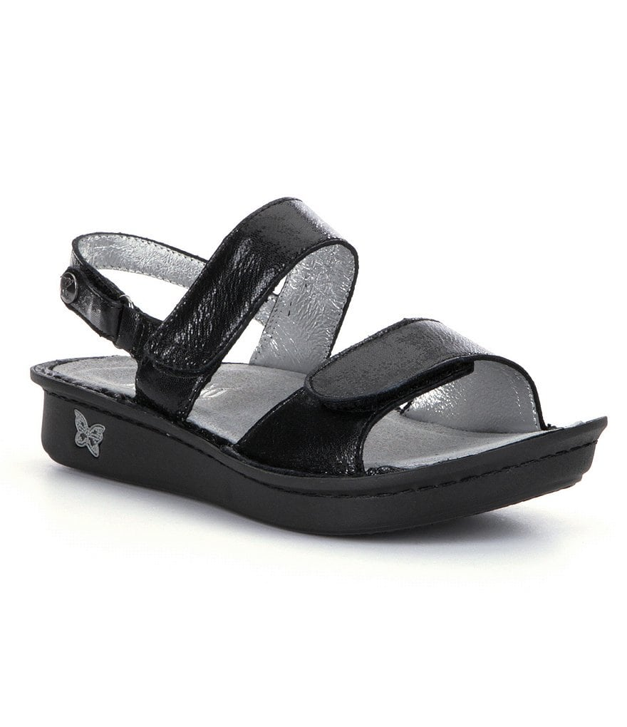 Alegria Verona Double Banded Leather Sandals
