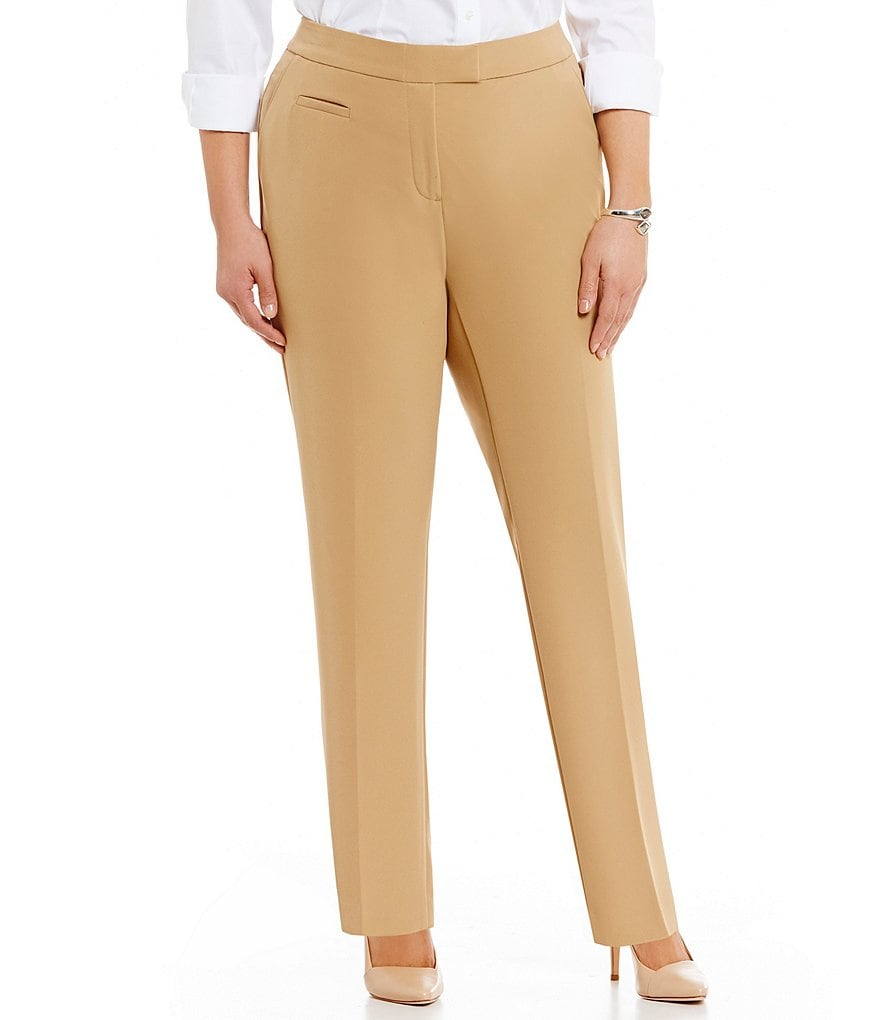 Investments Plus 5TH AVE fit Modern Straight Pant