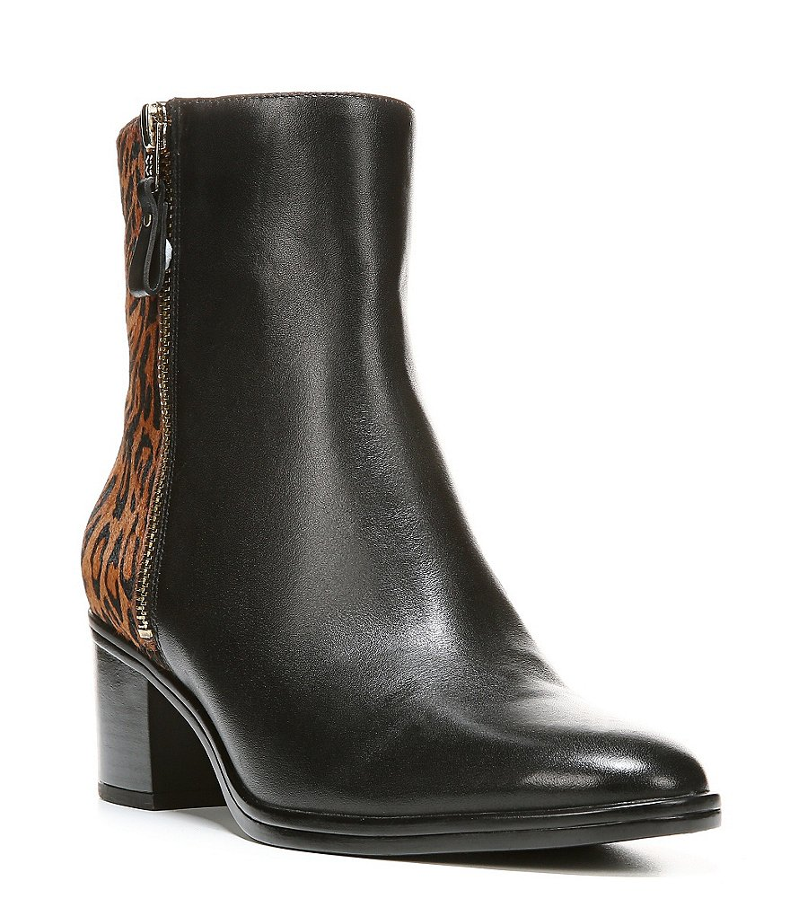 Naturalizer Harding Leopard-Print Haircalf Booties