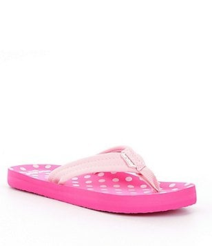 Reef Girls´ Little Ahi Polka-Dot Flip-Flops