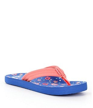 Reef Girls´ Little Ahi Floral Flip-Flops