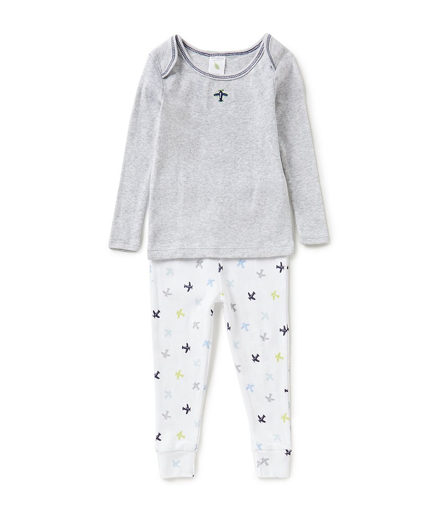 Starting Out 12-24 Months 2-Piece Plane Pajama Set