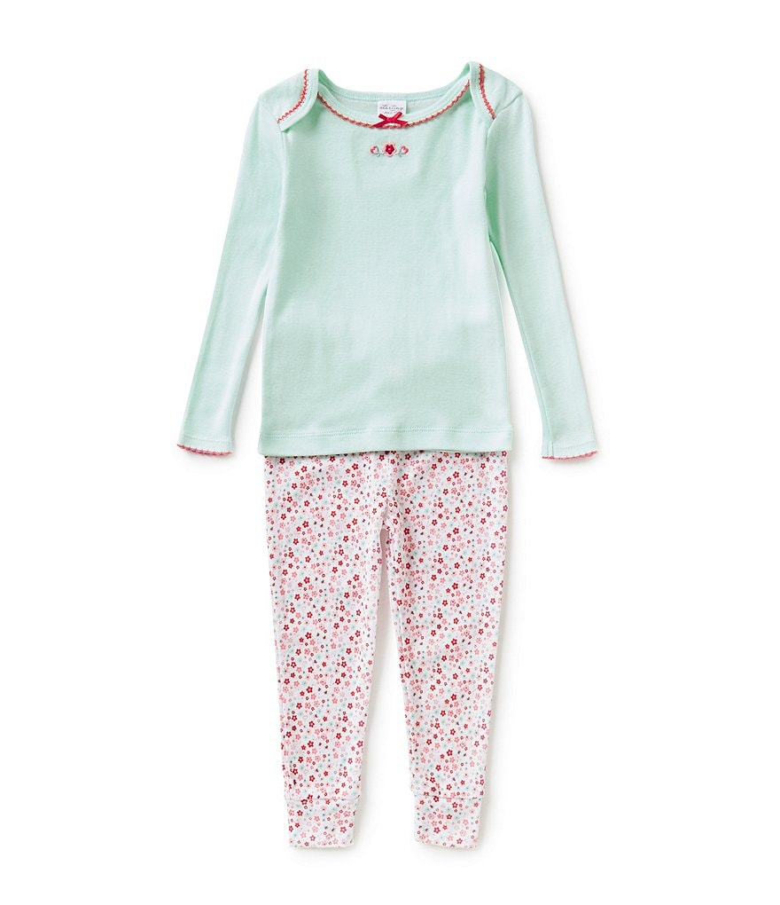 Starting Out Baby Girls 12-24 Months Floral Pajama Top & Pants Set