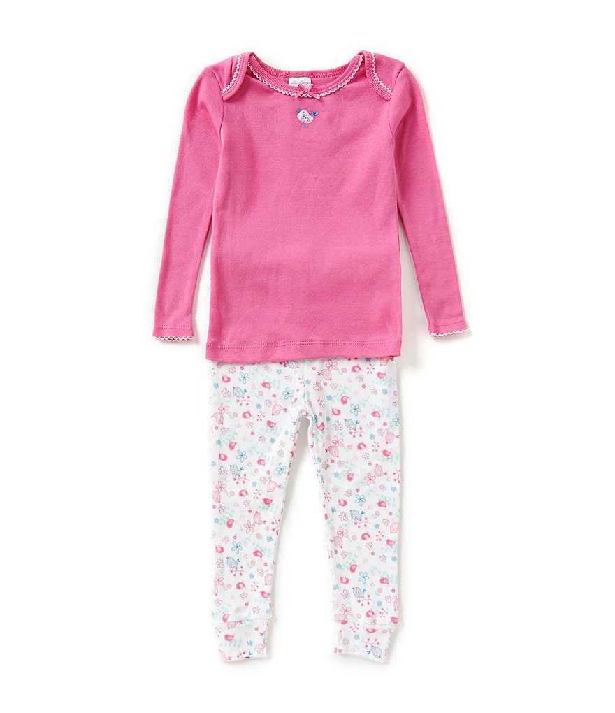 Starting Out Baby Girls 12-24 Months Bird Pajama Top & Pants Set