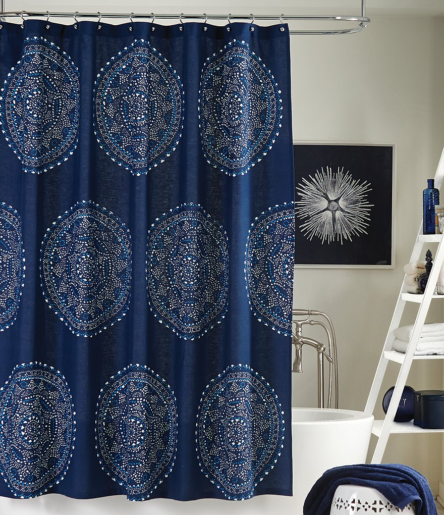 Trina Turk Costa Mesa Medallion Shower Curtain