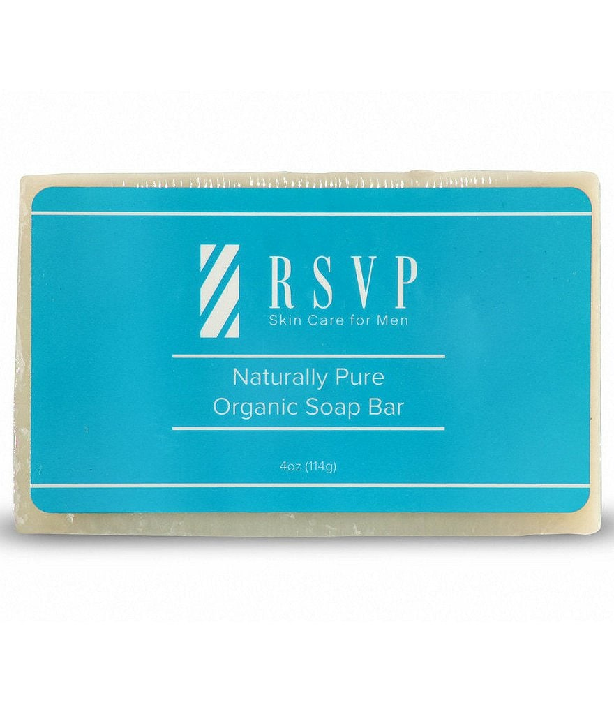 RSVP Skin Care for Men Naturally Pure Organic Soap Bar