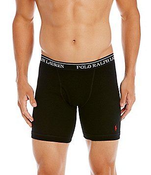 Polo Ralph Lauren Long Leg Boxer Briefs 3-Pack