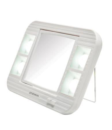 Jerdon 5x 1x Led Lighted Makeup Mirror Dillards