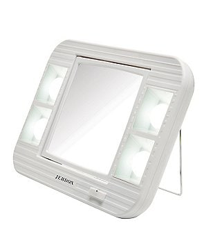 Jerdon 5X/1X LED Lighted Makeup Mirror