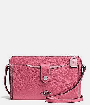 COACH MESSENGER WITH POP-UP POUCH IN COLOR BLOCK LEATHER