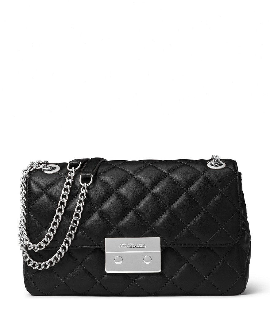 MICHAEL Michael Kors Sloan Quilted Chain Large Shoulder Bag