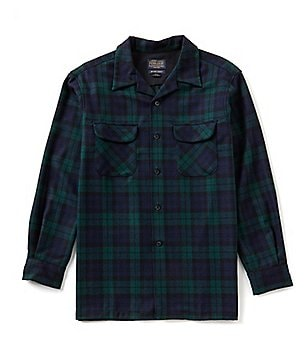 Pendleton Long-Sleeve Wool Board Shirt