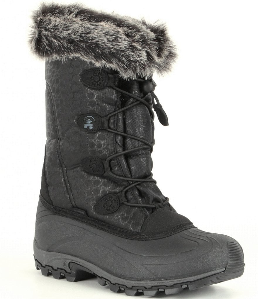 Kamik Momentum Faux Fur Waterproof Cold-Weather Boots