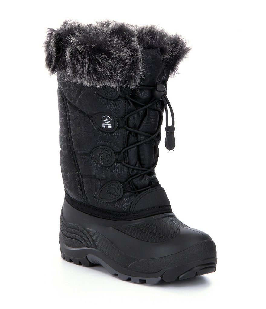 Kamik Snowgypsy Girls´ Faux Fur Cold Weather Waterproof Boots