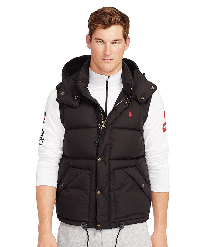 Polo Ralph Lauren Elmwood Microfiber Down Vest