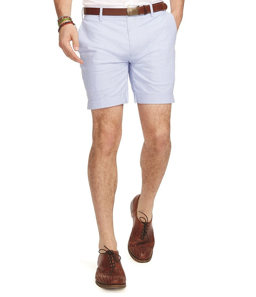 Polo Ralph Lauren Straight-Fit Striped Poplin Shorts