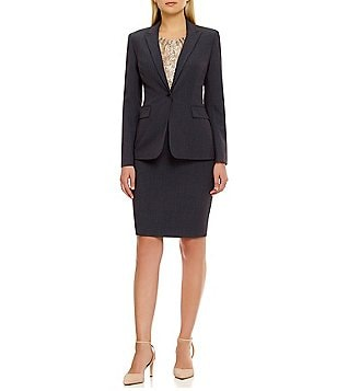 Calvin Klein One-Button Jacket & Pencil Skirt