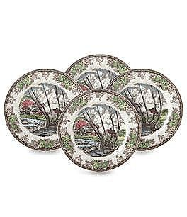 Johnson Brothers Friendly Village Salad Plates, Set of 4 Image