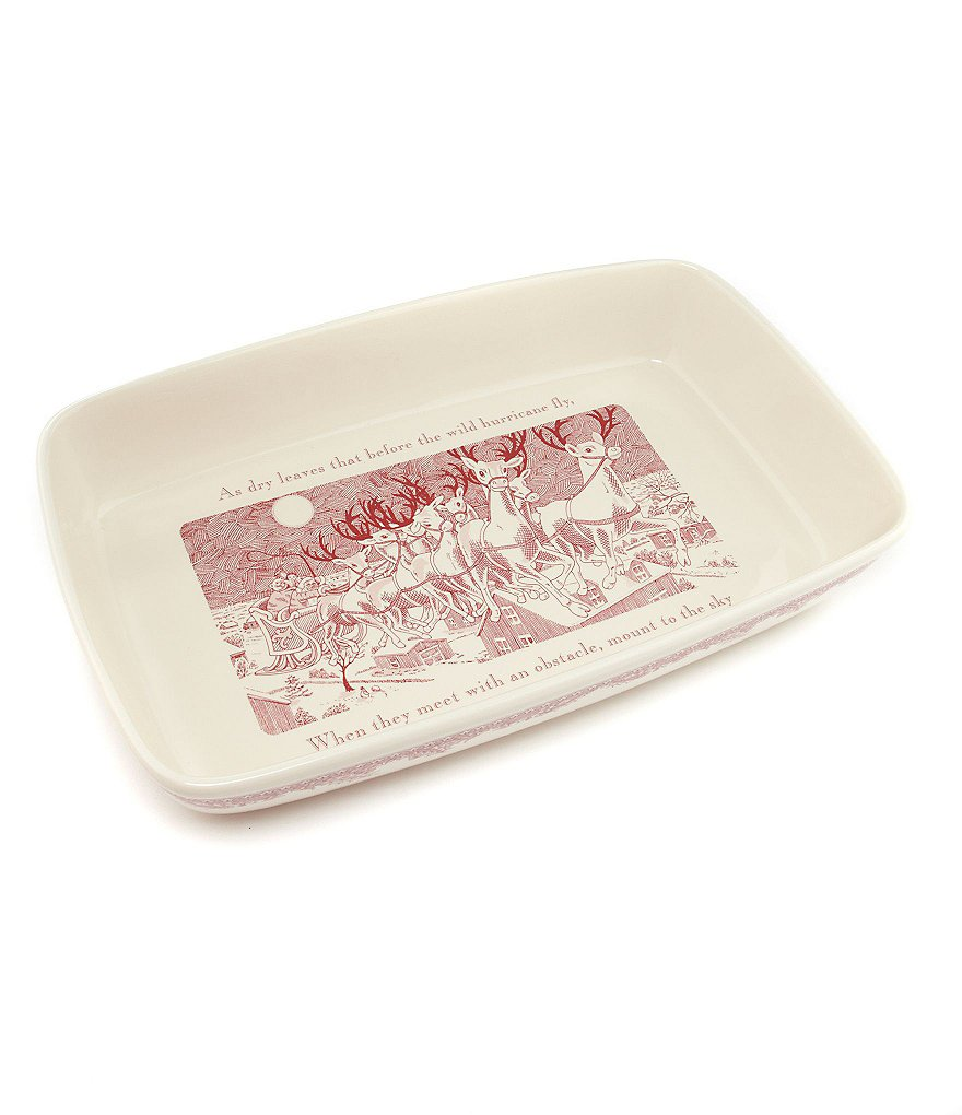 Johnson Brothers ´Twas the Night Rectangular Baker