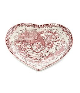 Johnson Brothers Twas the Night Heart Dish Image