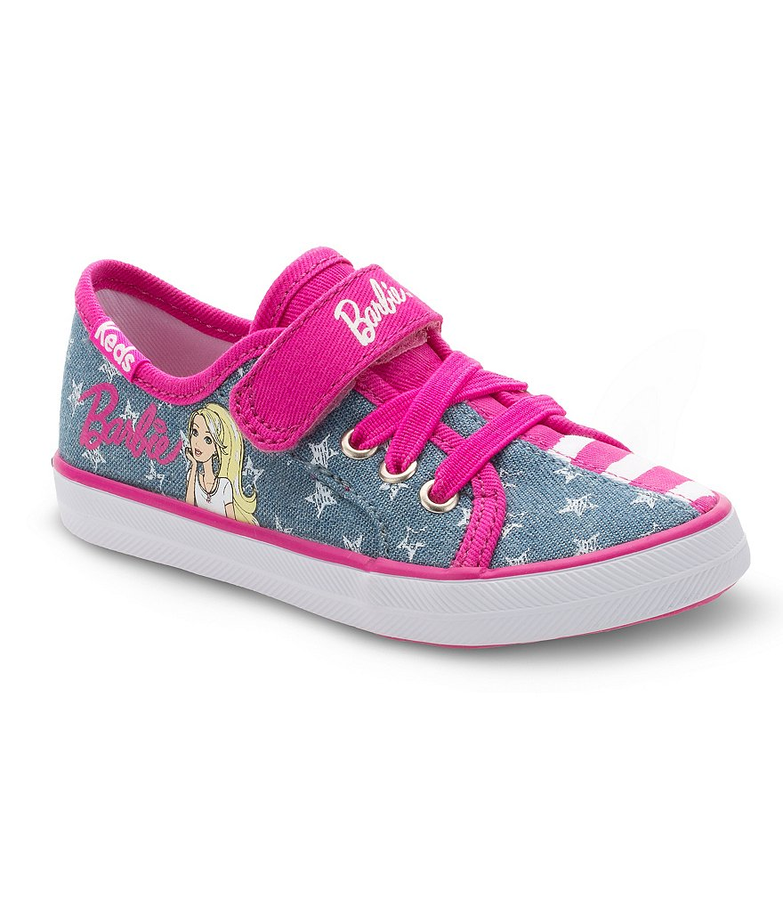 Keds Girls´ Barbie Denim Sneakers
