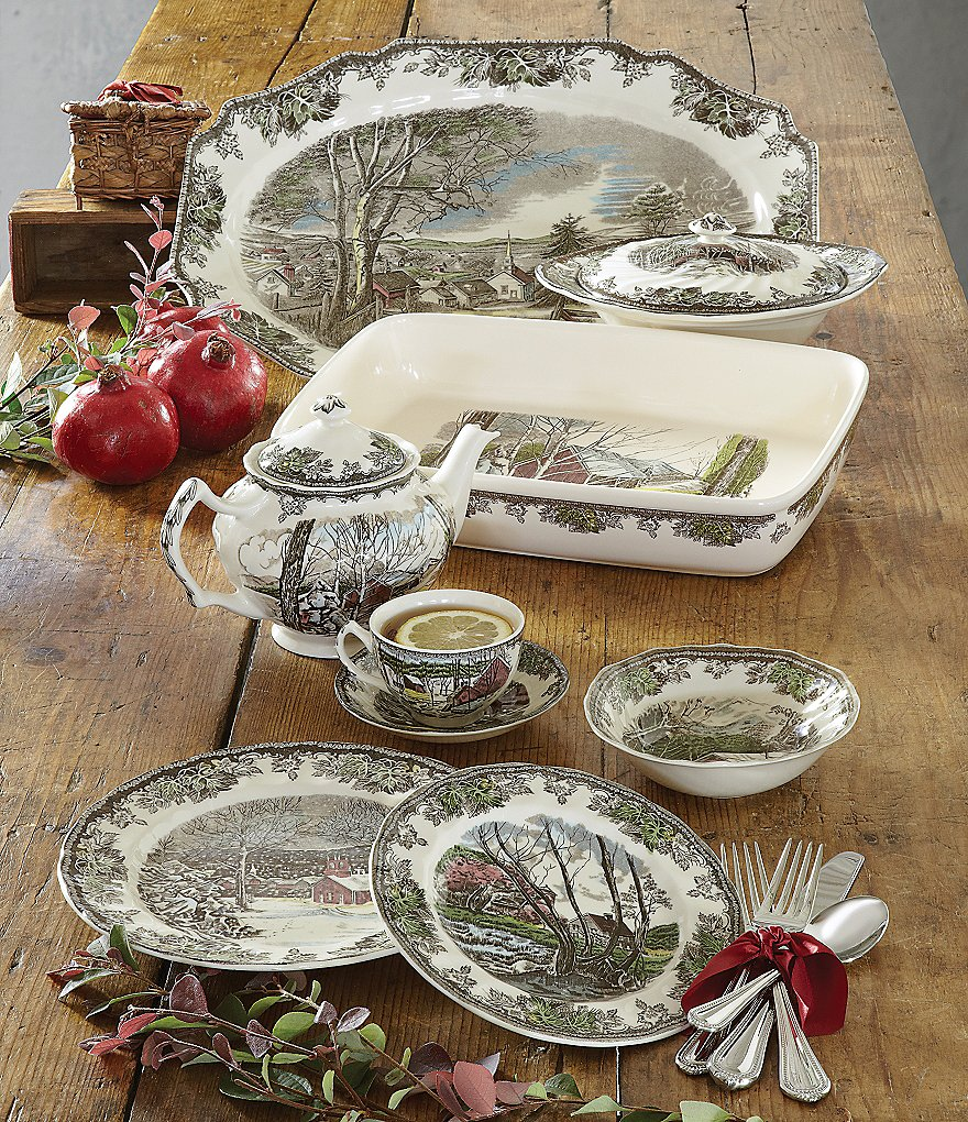 Johnson Brothers Friendly Village Dinnerware Collection