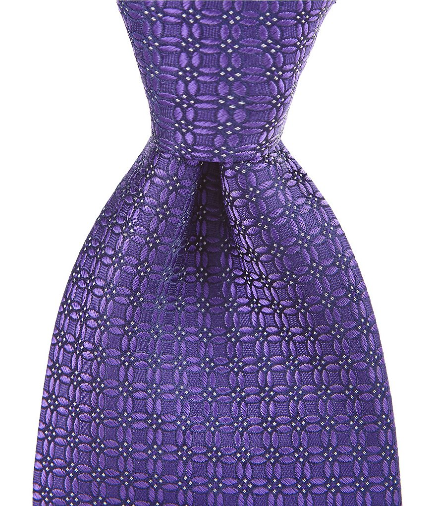 Cremieux Connect Four Traditional Silk Tie