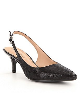 Antonio Melani Orlenne Pointed-Toe Slingback Pumps