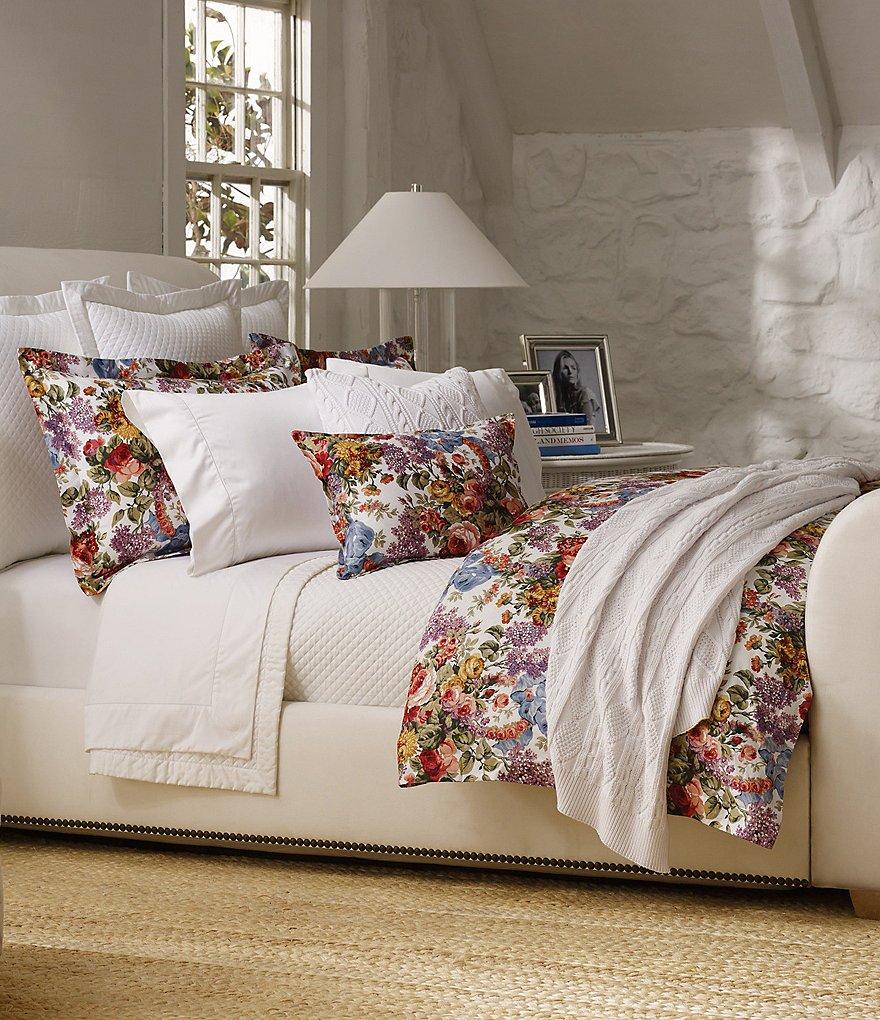 Ralph Lauren Allison Floral Quilted Comforter Dillards