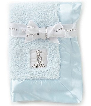 Little Giraffe Chenille Blanket