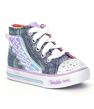 Skechers Girls´ Shuffles Flutter Up Light-Up Sneakers