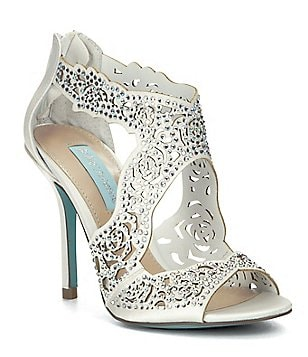 Blue by Betsey Johnson Livie Keyhole Cutout Sandals