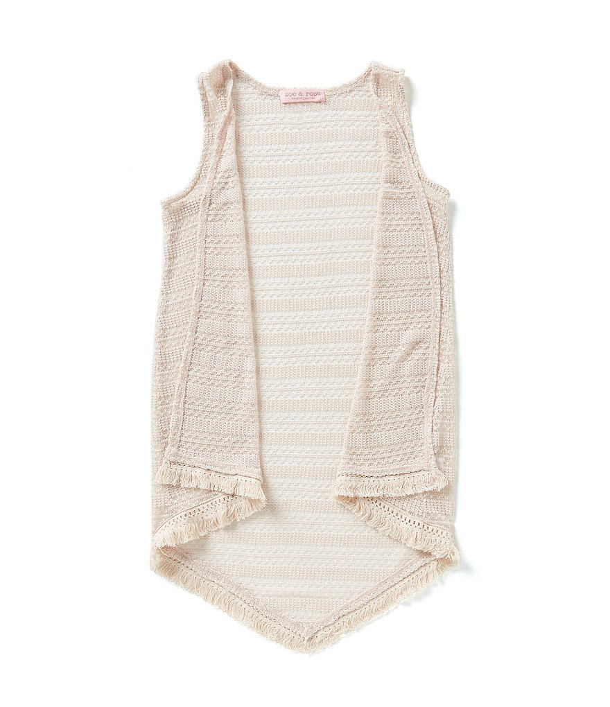 Zoe & Rose By Band Of Gypsies Big Girls 7-16 Sweater-Knit Vest