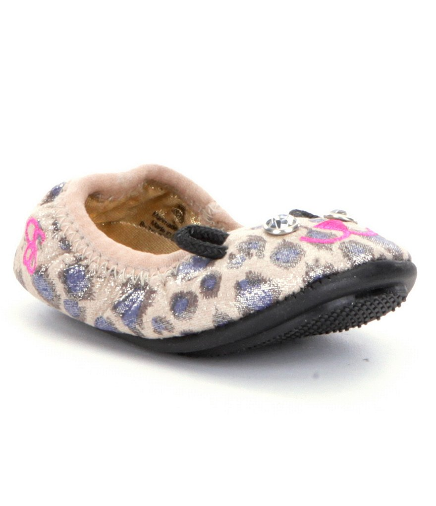 Jessica Simpson Girls' Millie Crib Shoe