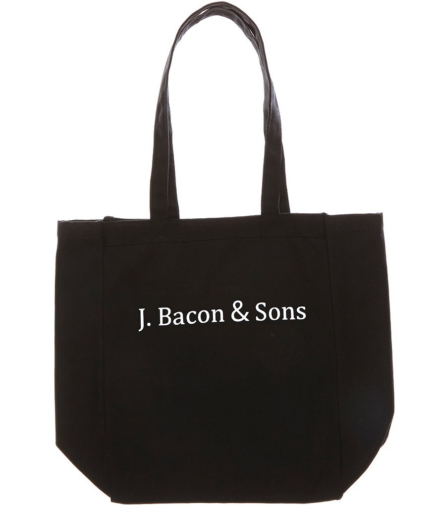 Heritage J. Bacon And Sons Logo Tote Bag