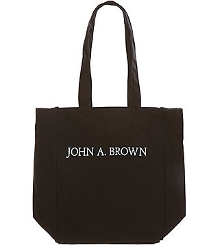 Heritage John A. Brown Logo Tote Bag