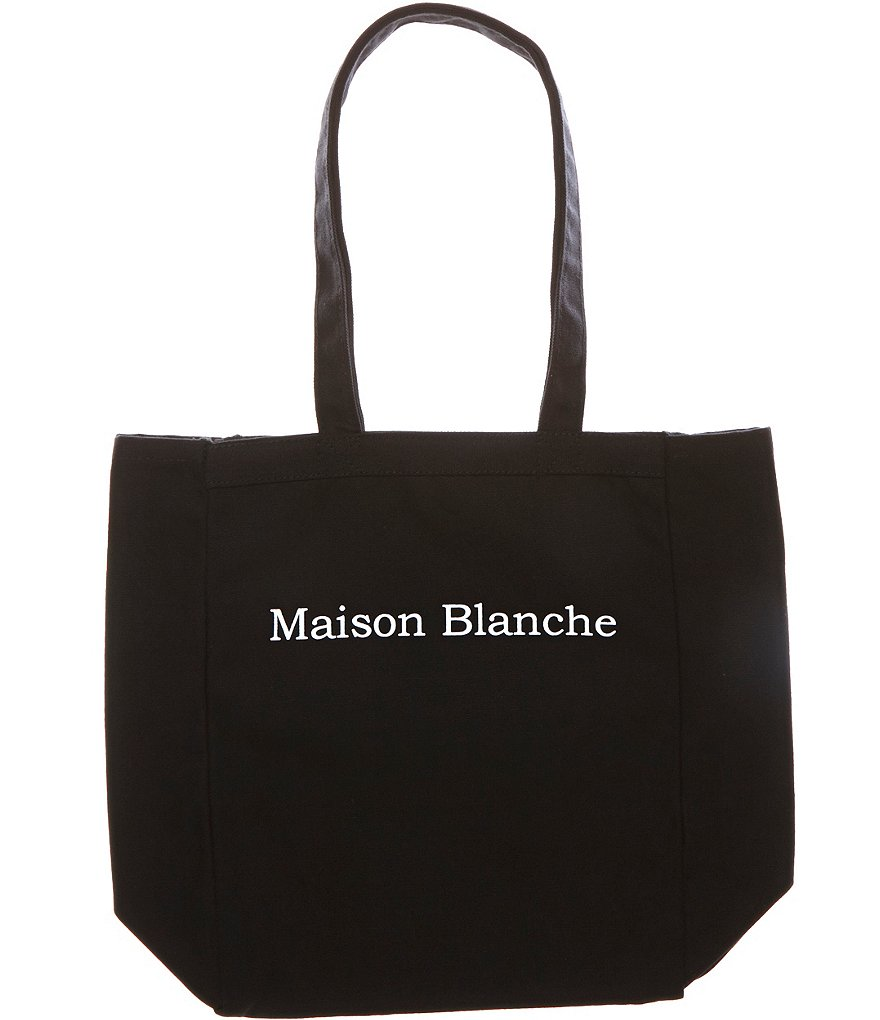 Heritage Maison Blanche Logo Tote Bag