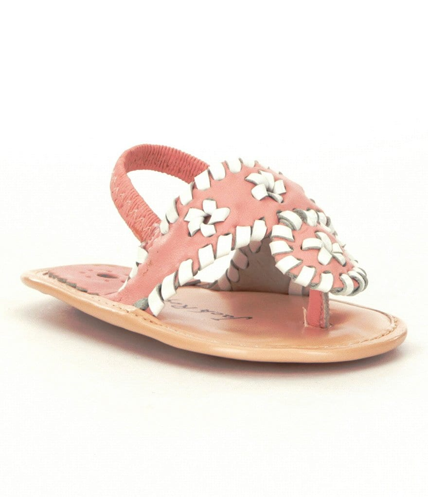 Jack Rogers Girls´ Baby Jacks Sandal Crib Shoes