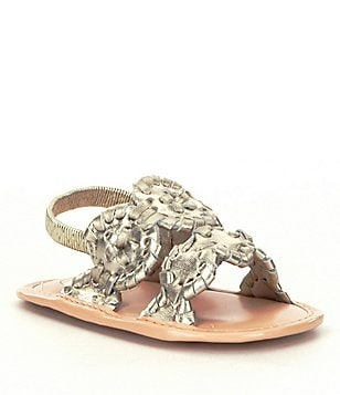 Jack Rogers Girls´ Baby Lauren Sandal Crib Shoes