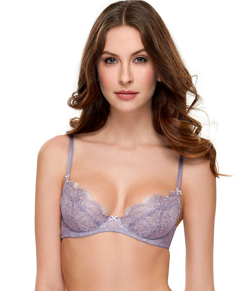 b.tempt´d by Wacoal b.sultry Chantilly Lace Balconette Bra