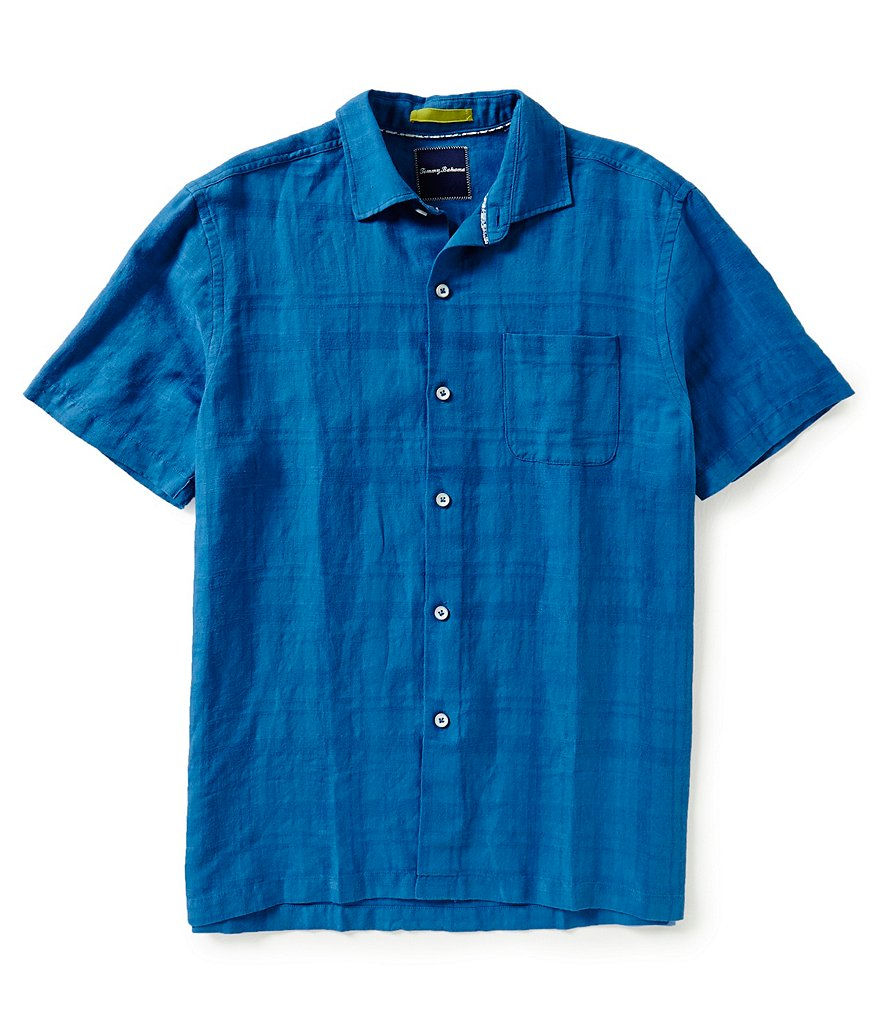 Tommy Bahama Short-Sleeve Squarely There Printed Woven Shirt