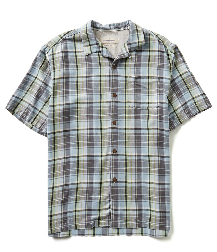 Tommy Bahama Short-Sleeve House Of Plaid Woven Shirt