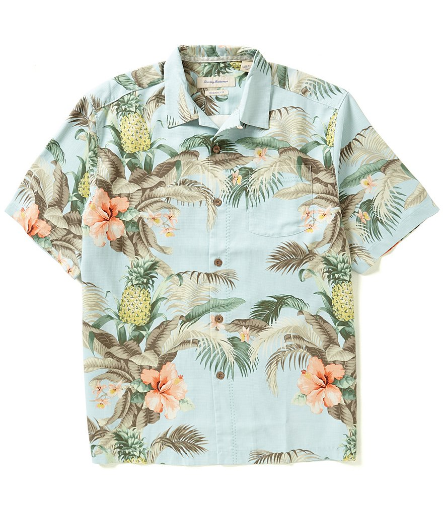Tommy Bahama Short-Sleeve Shut The Frond Door Woven Shirt