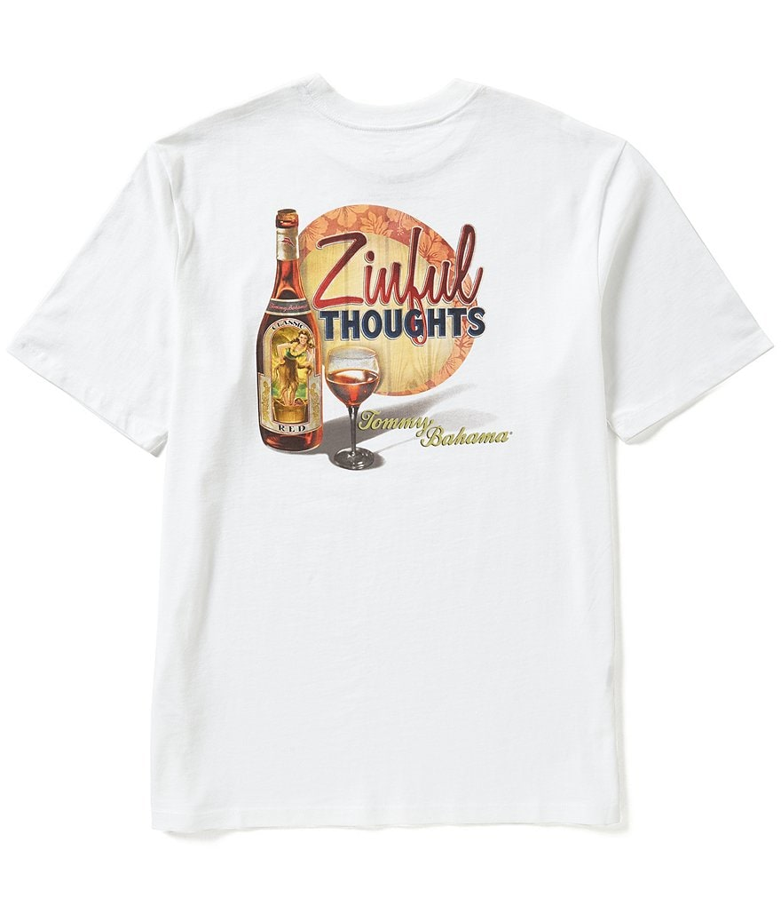 Tommy Bahama Short-Sleeve Zinful Thoughts Graphic Tee