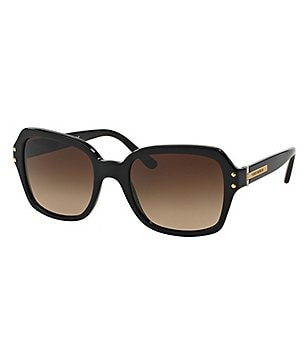 Tory Burch Modern Oversized Square Sunglasses